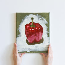 Load image into Gallery viewer, 'Red Pepper' Original Oil Painting