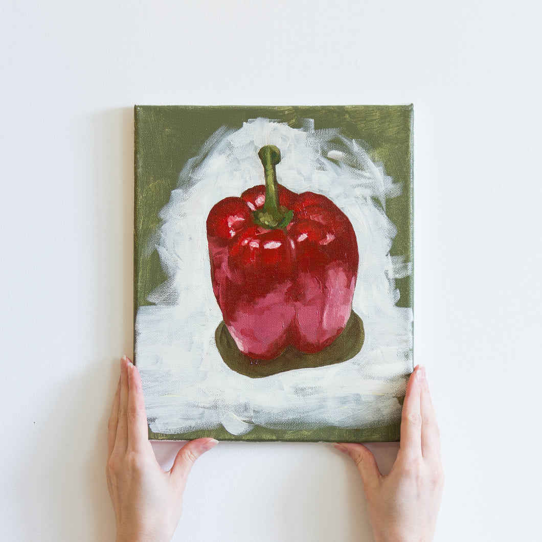 'Red Pepper' Original Oil Painting