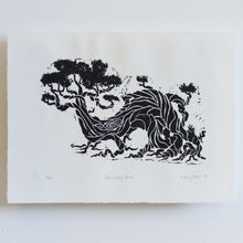 Load image into Gallery viewer, 'The Living Tree' Handmade Linocut Print