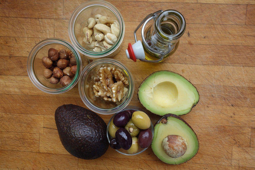 Oils with Healthy Fats