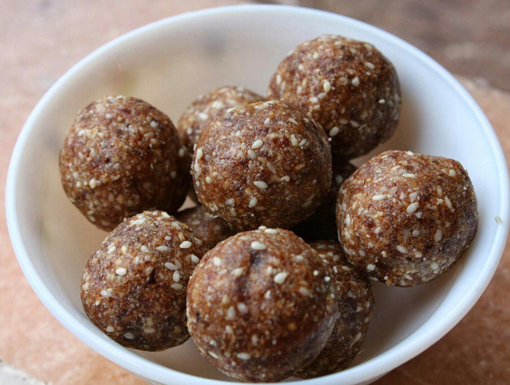 Dates and sesame ladoo