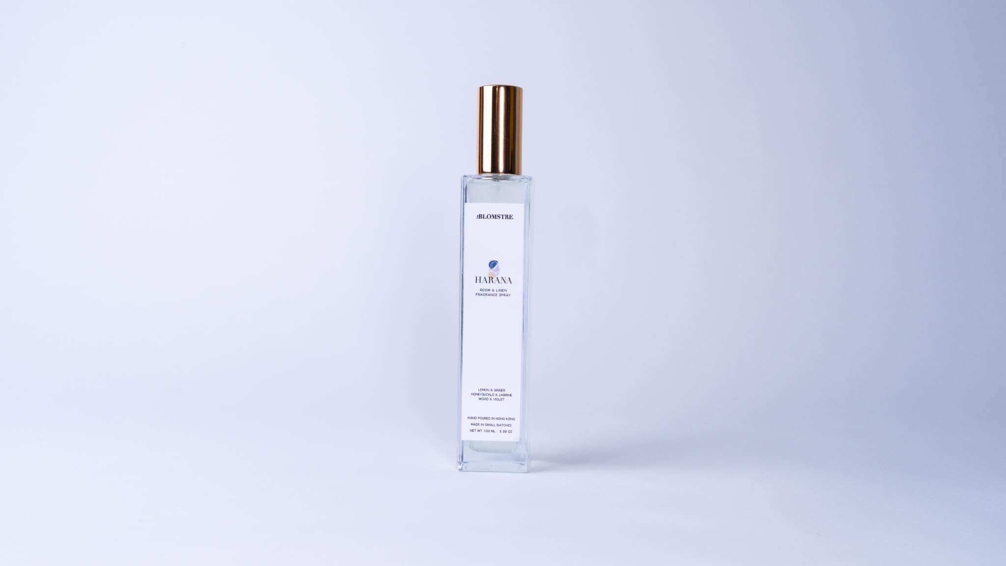 Room + Linen Glass Spray 100ml: HARANA