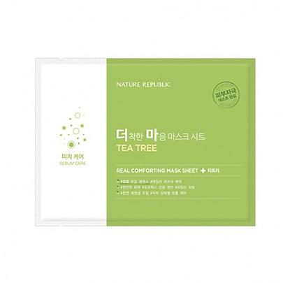 SkynSin Nature Republic Tea Tree Mask