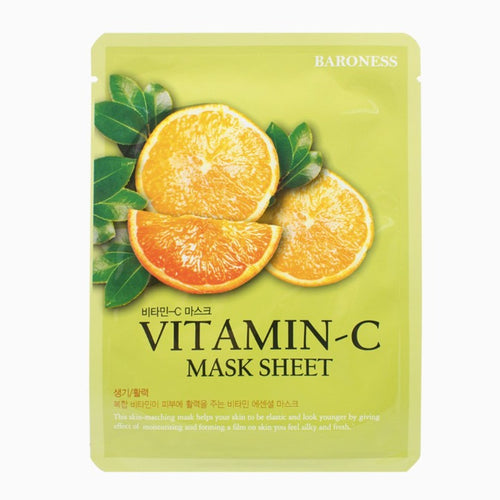 Baroness Vitamin C Face Sheet Mask SkynSin