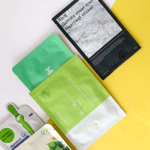 5 Sheet Mask SkynSin Curated for Skin Concerns