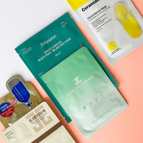 Super Set 5 Sheet Masks Post Workout