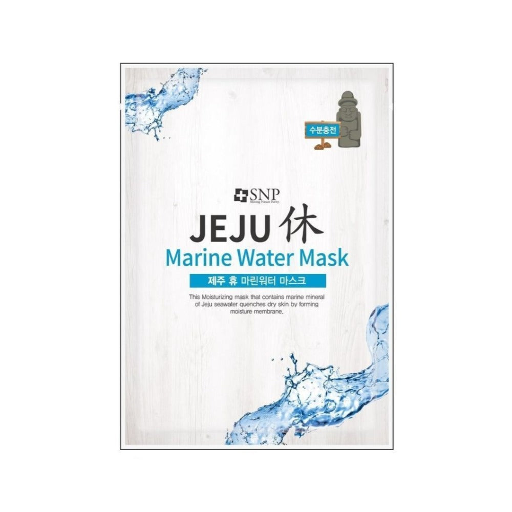 SNP Jeju Marine Water Mask - 1pc