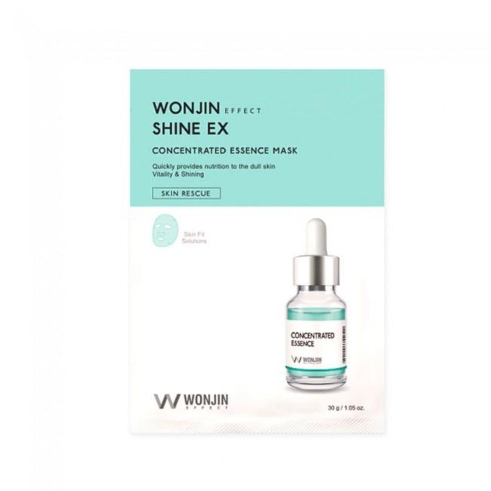 Wonjin Effect Shine EX Concentrated Essence Mask - 1pc