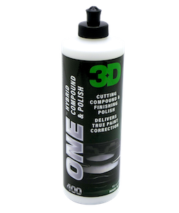 3D - ONE - Cutting Compound & Finishing Polish