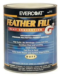 High Build Evercoat Feather Fill G2 Primer, Quart - Gray