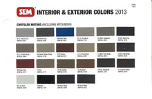 Load image into Gallery viewer, Chrysler 2013 Interior Colors