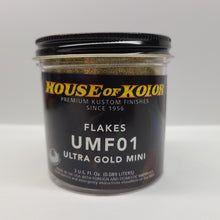 Load image into Gallery viewer, House of Kolor UMF-01 Ultra Gold Mini Flakes