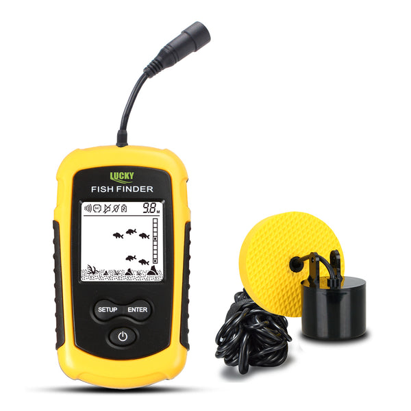 LUCKY Portable Sonar Fish Finder