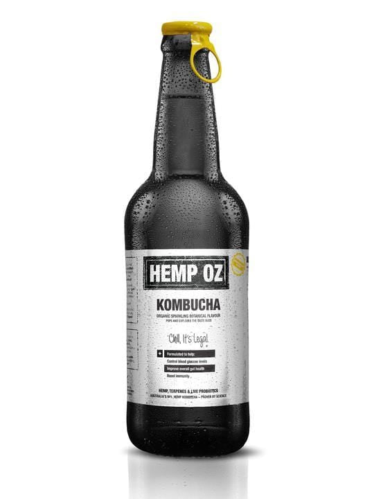 Hemp Factory Australia Hemp Kombucha HempOZ - Hemp Kombucha (12 bottles) Regular price
