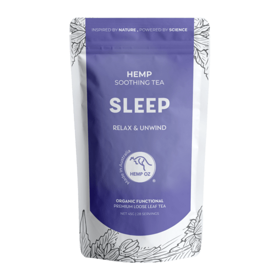 Hemp Factory Australia Hemp Sleep Tea Hemp Soothing Tea - Sleep (Relax & Unwind)