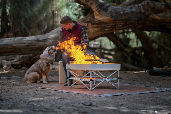 pop up pit in national forest