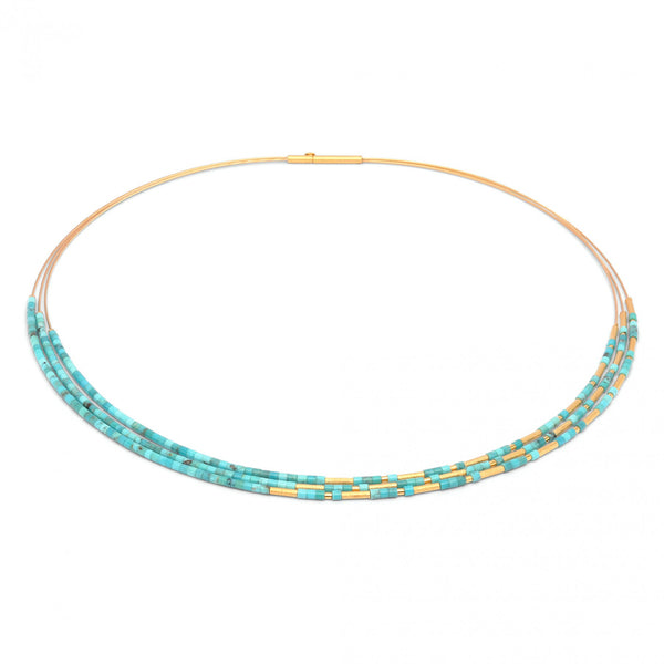 Blue Turquoise Necklace