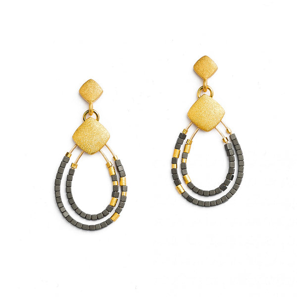 """Clini"" Teardrop Earrings"