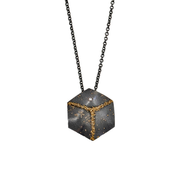 """Cube"" Necklace"