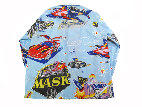 Mobile Armored Strike Kommand long sleeve aloha shirt