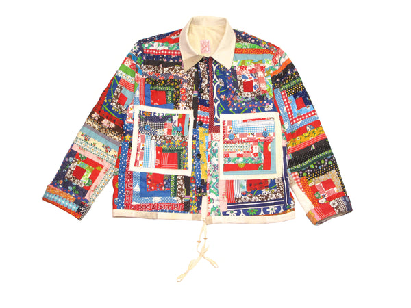 log cabin jacket