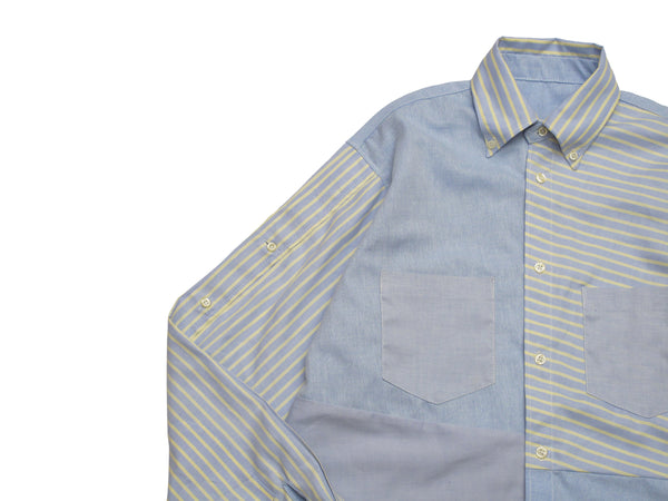 reconstructed oxford shirt