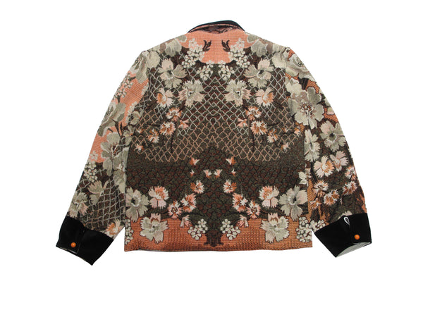 floral chore jacket