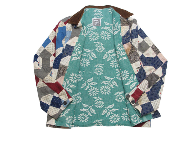 quilt top chore jacket
