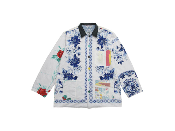 table cloth remnant chore jacket