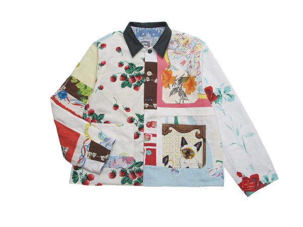 table cloth remnant utility jacket