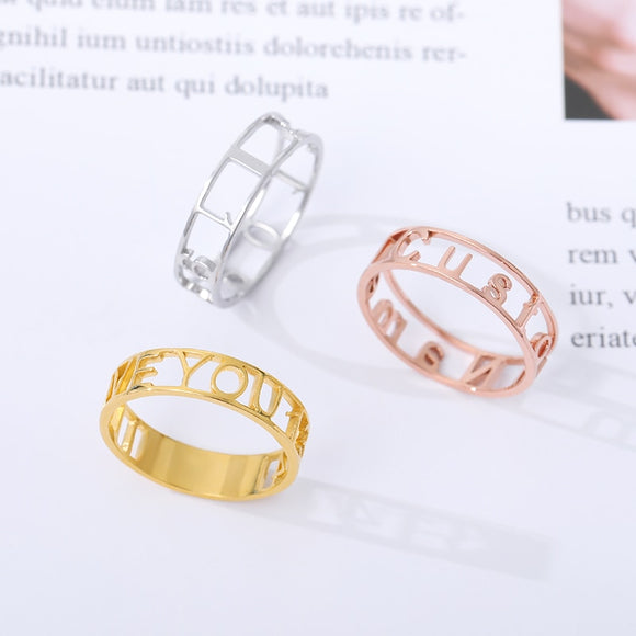 JewelsForWomen / Personalised Rings