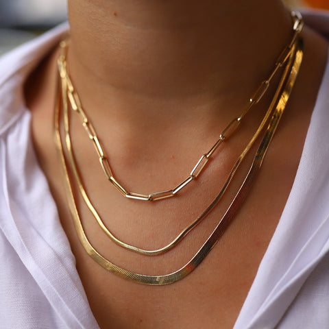 chain necklaces gold