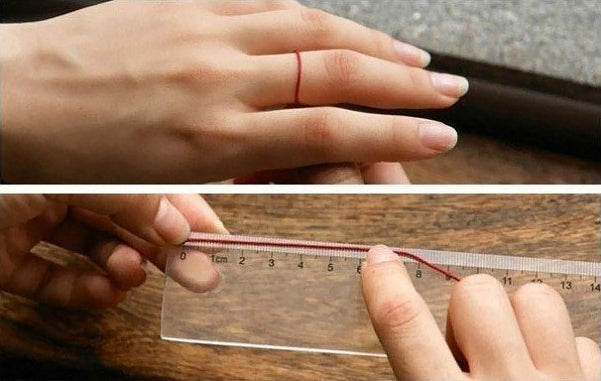 ring size guide for woman