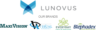 Lunovus: Our Brands - Maxivision, Visual Advantage, Everyday Care and Nutrition, Blephadex