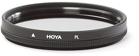 Hoya 43mm LINEAR Polarizer PL Glass Lens Filter Authorized USA Dealer B--43PL-GB