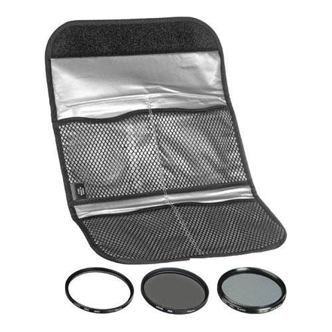 Hoya 62mm Digital Filter Kit II - Slim UV, Cir-PL, ND8 Filters & Case HK-DG62-II