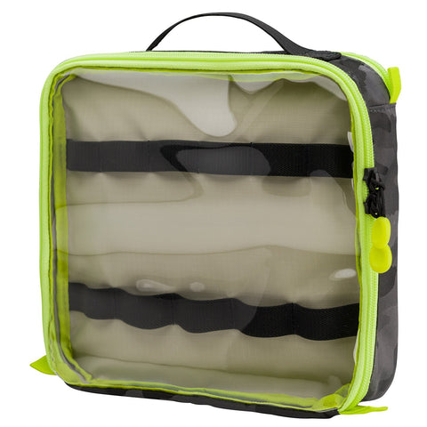 Tenba Cable Duo 8 Cable Pouch (Camo/Lime) - Cables & Accessories Storage 636-237