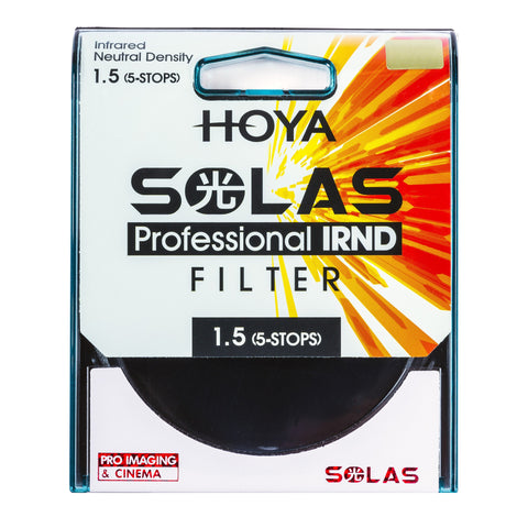 HOYA SOLAS ND-32 (1.5) 5 Stop IRND Neutral Density Filter