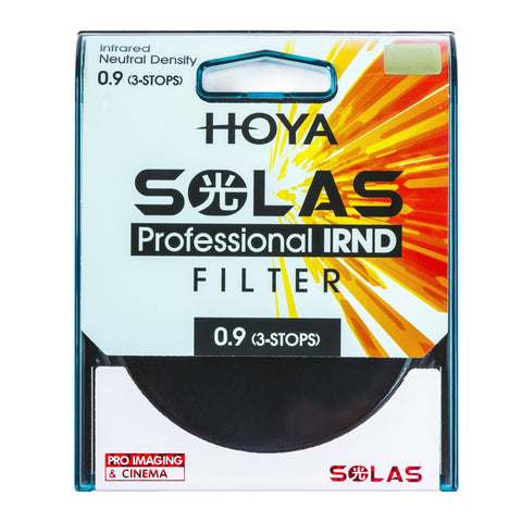 HOYA 49mm SOLAS ND-8 (0.9) 3 Stop IRND Neutral Density Filter