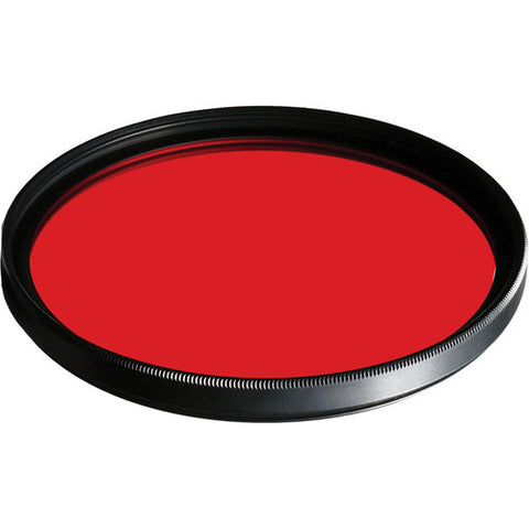 B+W 46mm #25 Light Red SC (090) Filter - Schott Glass - MPN: 65-071879