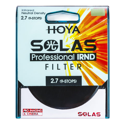 HOYA 52mm SOLAS ND500 (2.7) 9 Stop IRND Neutral Density Filter