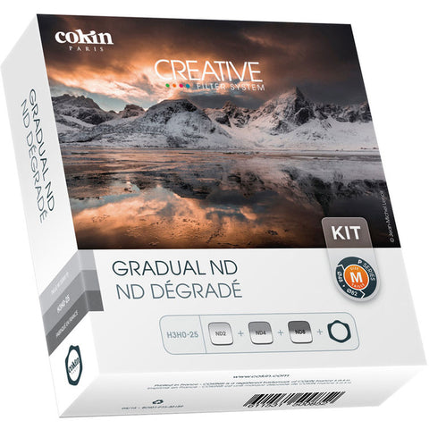Cokin P Series Hard & Soft-Edge Graduated ND Filter Kit w/ P Series Holder