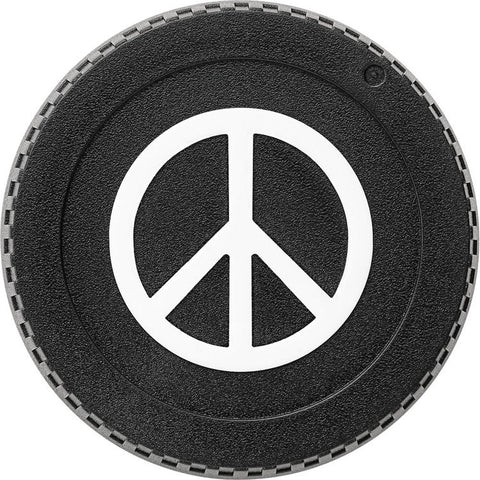 BlackRapid LensBling Twist-On Camera Body Cap - NIKON (Peace Sign) MPN:RAL5C-1A1