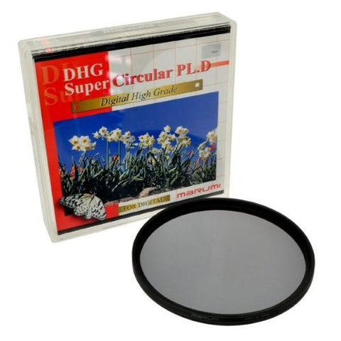 MARUMI 62mm DHG SUPER - CIRCULAR POLARIZER (CPL) - Designed for Digital Cameras