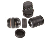 Op/Tech Double Sided Twist On Rear Lens Cap - Nikon - O-Ring Seal - #1101221