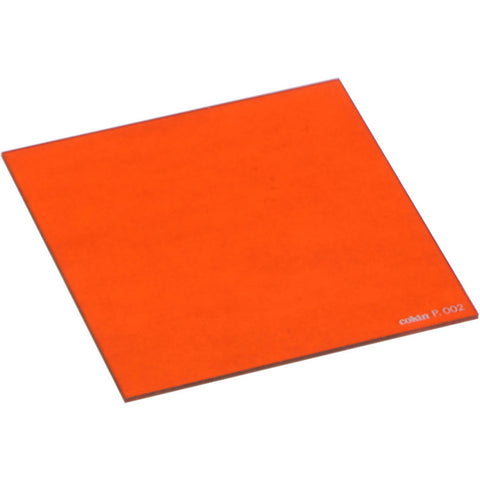 Cokin P002 Orange Resin Filter for Black & White  - Fits P Series
