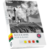 Cokin Z Series Black & White - Yellow / Orange / Red / Green - Resin Filter Kit