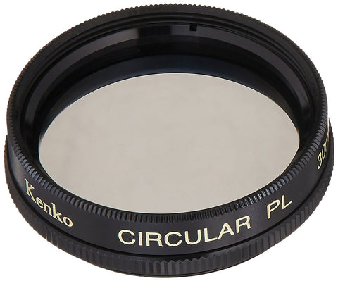 Kenko-Tokina 30mm Circular Polarizing Digital Camera Glass Filter Made In Japan