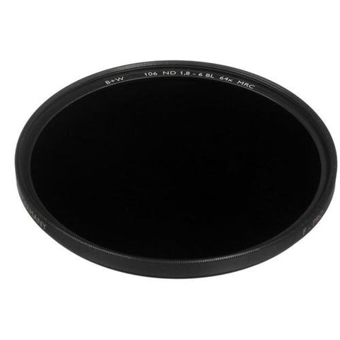 B+W 49mm 1.8 ND MRC 106M Filter - Schott Glass - Brass Ring - MPN: 66-1066160