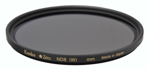 Kenko - Tokina Zeta 52mm Neutral Density ND-8 (0.9) - ZR Super MC - KZ-52ND8